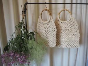 macrame simple bag