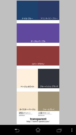 琥珀美神・アンバーミューズ・カラーセレクター(gorgeous)