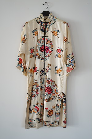 1930s Chinese Embroidered Robe