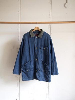 USED / GreatLand, Denim hunting jacket