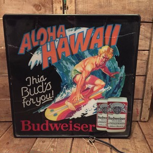 Hawaii Budweiser Lighted Sign