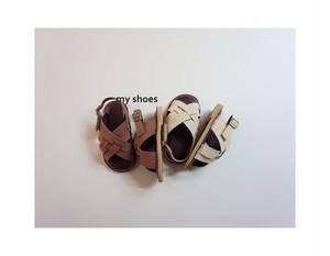 select shoes / パンプキンサンダル