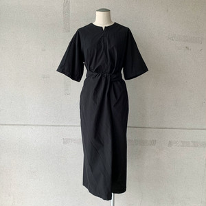 【COSMIC WONDER】Wrapped short sleeves dress /13CW17240-1