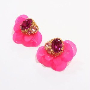 【ピアス.2】phantomFLOWER crystal