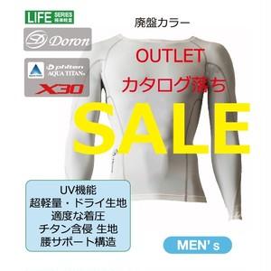 LIFE Men's ロングスリーブシャツ White ¥12,000(+Tax)