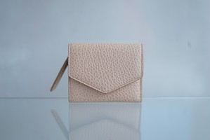 Maison Margiela / envelope leather wallet (black)