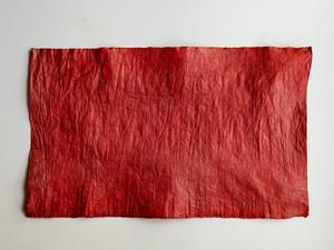 柿渋和紙 赤