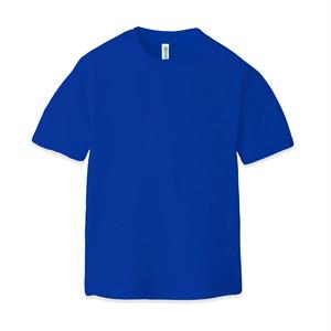ドライ クルーネックTシャツ(半袖)ブルー