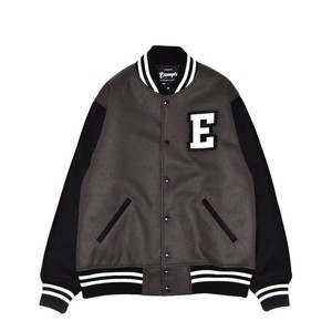 COLLEGE JACKET / GRAYxBLACK