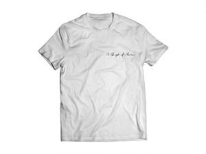 Hand scrawled Tshirts (White)