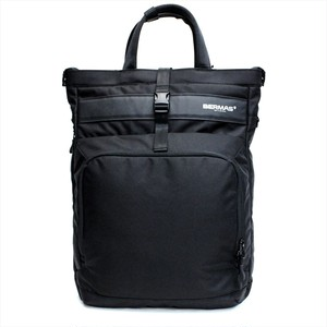 BERMAS 「MOBILE STORAGE」 TOTE BACKPACK <BLACK>