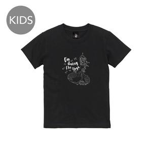 yoga 半袖 黒 KIDS