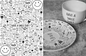 SMILE Cafe /ポーセラーツ転写紙