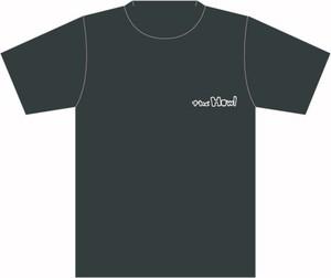 ロゴ Tシャツ  (ダークグレイ)