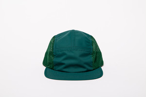 NYLON MESH CAMP CAP (GREEN)