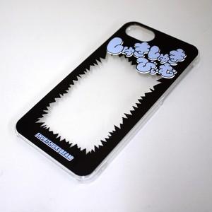 【推しをはさむといいかんじになるスマホケース/iPhone7・8】しゅきしゅきびぃむ黒
