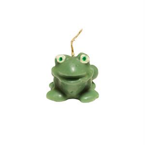 Green Frog Mini Candle