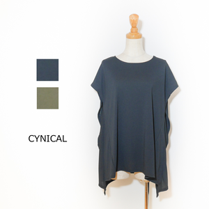 ☆SALE☆[CYNICAL] 無地イレヘムTシャツ