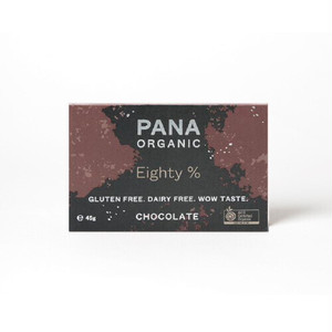 PANA ORGANIC 有機チョコレート EIGHTY 80% エイティー