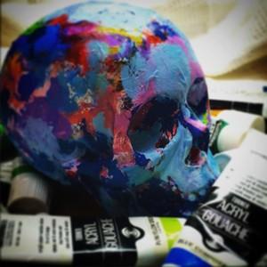 Palette Skull