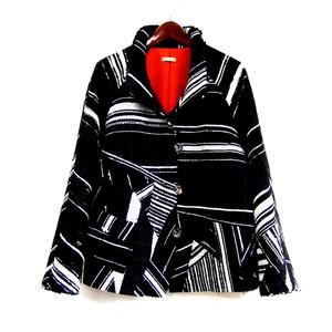 裂き織り パッチワークジャケット【ミセス・モトコ】