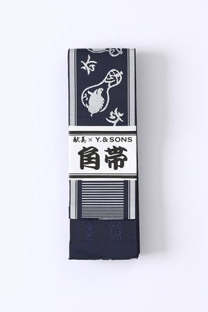 博多角帯 / 亥 / Navy