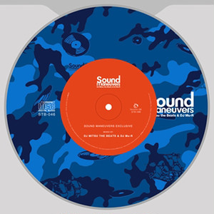 【ラスト1/CD】Sound Maneuvers(DJ Mitsu the Beats & DJ Mu-R) - EXCLUSIVE ver.6