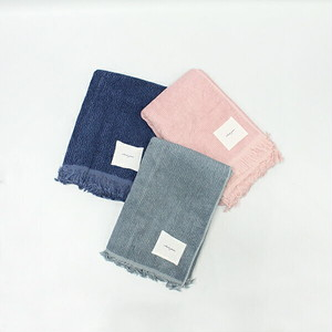 sieste peau(シエスタポー) Bamboo Cotton Rib Bath towel