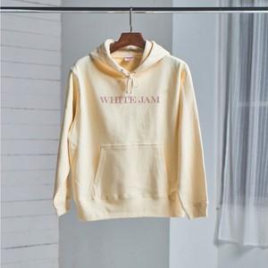 【5月発売】WHITE JAM hoodie (Natural)