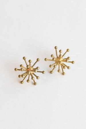【TAMARI】Starburst brass pierce