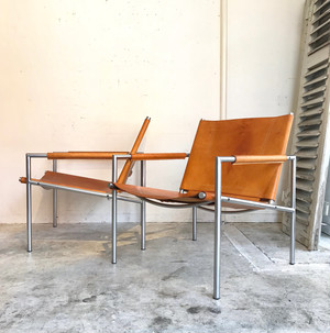 Martin Visser easy chair SZ02  't Spectrum 1970's オランダ A