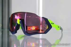 "OAKLEY ""FLIGHT JACKET"" Navy Retina burn /Prizm Road"