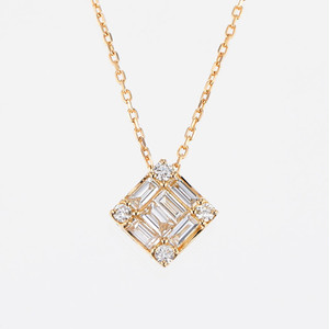 Wish K18YG Diamond Pendant Necklace (ダイヤモンド ペンダント)