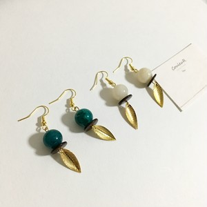 summercolor×leaf イヤリング