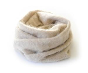 Toyoboshi | Fur Cashmere Snood  [ Cashmere 100% ]