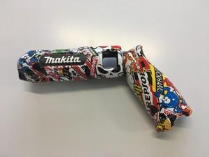 マキタ TD022用 カスタム外装 ステッカーボム柄  makita ペンインパクトドライバー