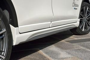 ニッサン T32 エクストレイル ハイブリッド サイドステップ&ドアパネルセット エアロパーツ