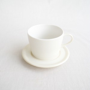 カップ&ソーサー バニラホワイト