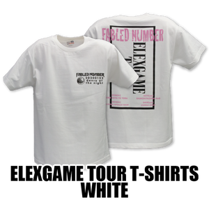 ELEXGAME TOUR T-SHIRTS[WHITE]
