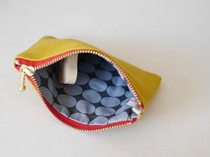 帆布のポケットティッシュポーチ