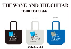 THE WAVE AND THE GUITAR - TOUR TOTE BAG