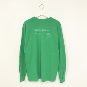 TRASH L/S TEE(GREEN)