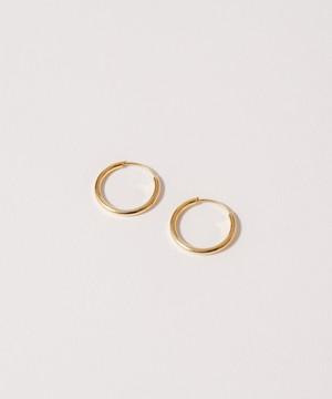Thin Hoop Pierce(1.5cm)[Silver925]