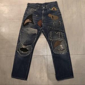 60's FOREMOST×HTC  remake denim pants