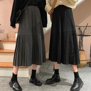 【ボトムス】着回し力抜群ハイウェスト合わせやすいスカート