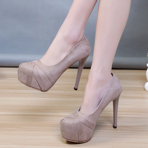 【pumps】 2018 autumn  fashion  super high heel pumps
