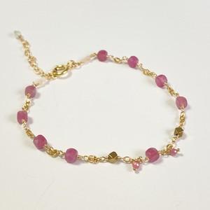 【heartwarming bracelet 】 Pink Tourmaline(ピンクトルマリン)