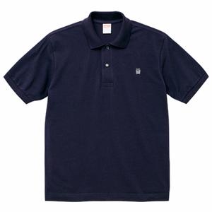 ポロシャツ(ポテトロゴ - ネイビー)
