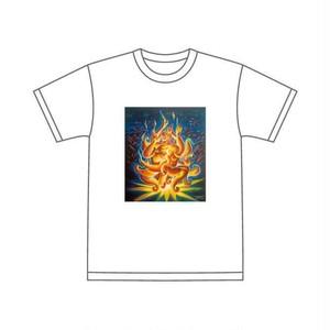 Gravityfree × barTAKIBI Tシャツ (白) (黒)