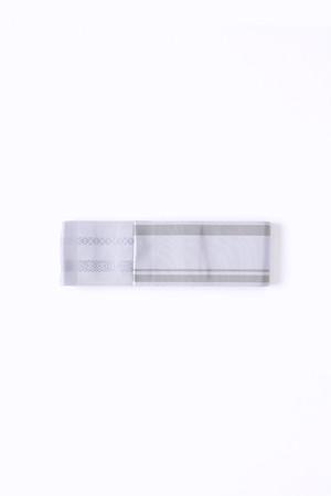 博多角帯 / Line / Light gray
